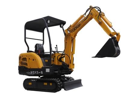 玉柴YC13-8挖掘机