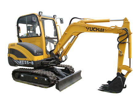 玉柴YC25-8挖掘机