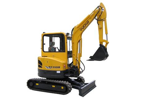 玉柴YC35SR挖掘机