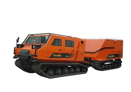詹阳动力JY813-F全地形履带式抢险救援消防车
