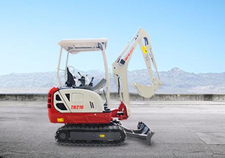 竹内TB216挖掘机