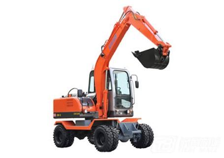 新源机械XY65W-8轮式挖掘机
