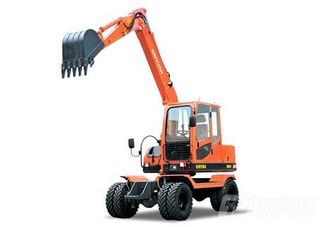 新源机械XY75W-9轮式挖掘机