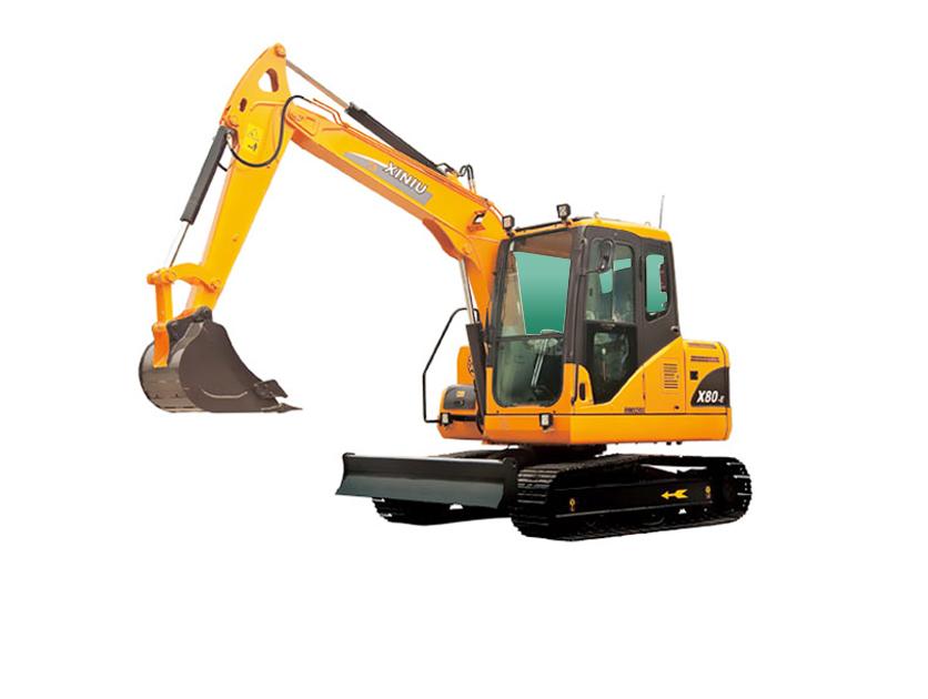 犀牛重工XN80-E挖掘机