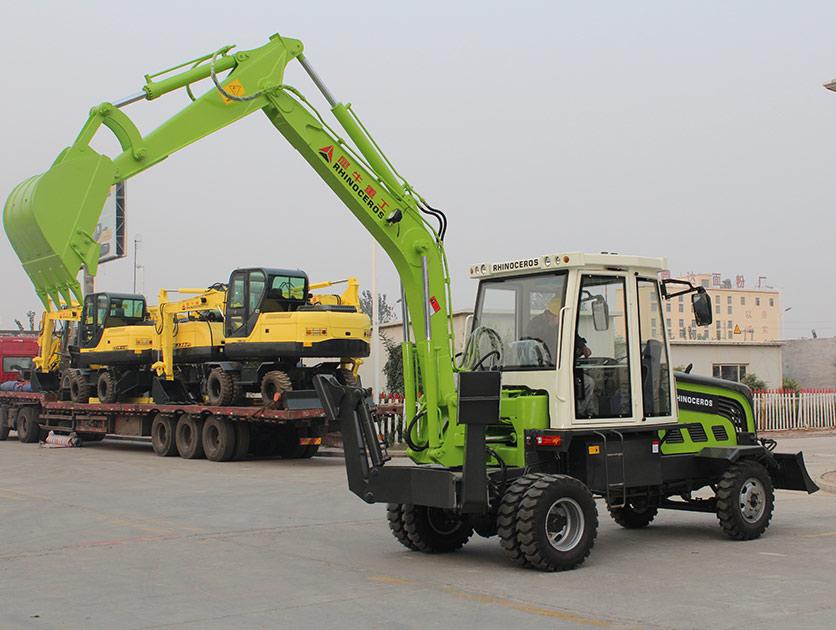 犀牛重工XN7180轮式挖掘机