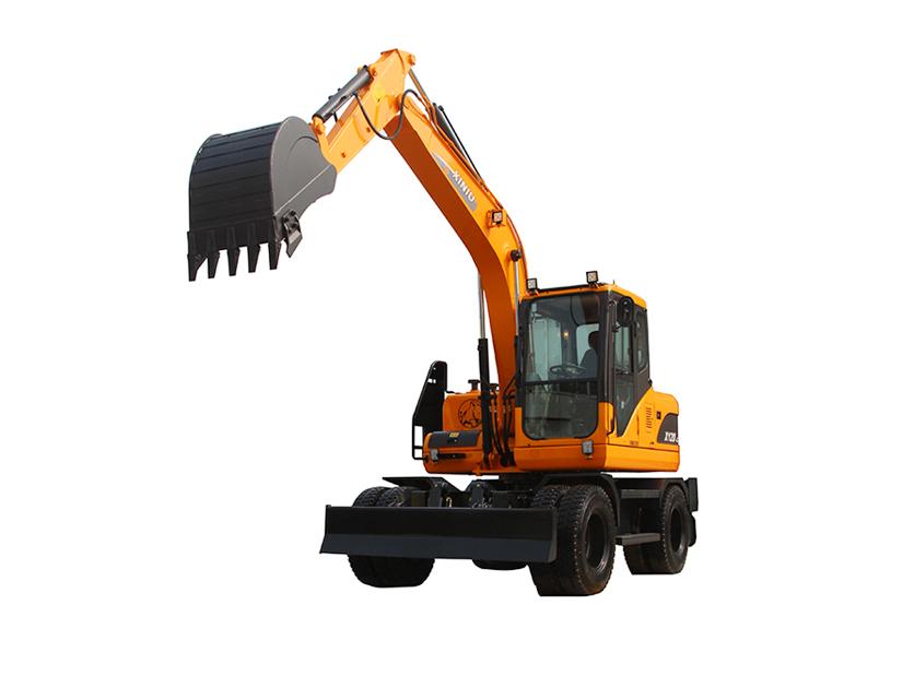犀牛重工XN120-L轮式挖掘机