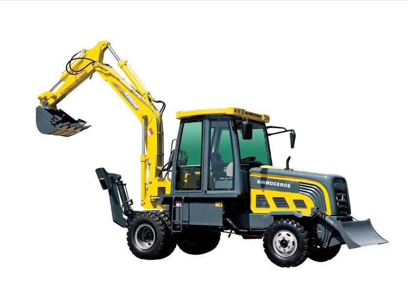 犀牛重工XN8180轮式挖掘机