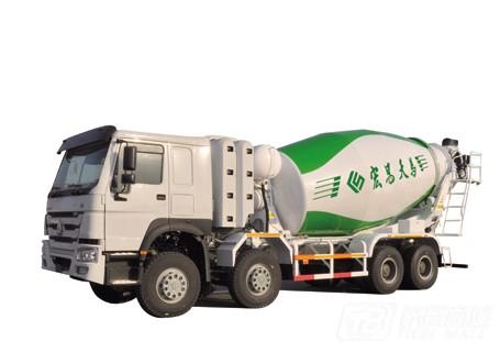 宏昌天马CNG混凝土搅拌运输车
