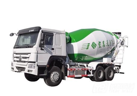 宏昌天马6×4柴油混凝土搅拌运输车
