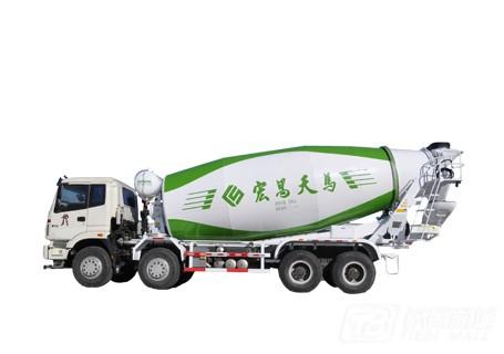 宏昌天马8×4柴油混凝土搅拌运输车