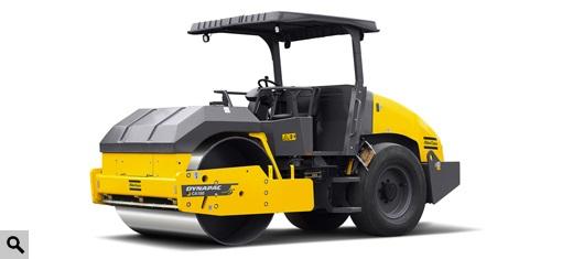 戴纳派克CA150AD单钢轮压路机