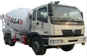 亚特TZ5257GJBZ6N混凝土搅拌运输车