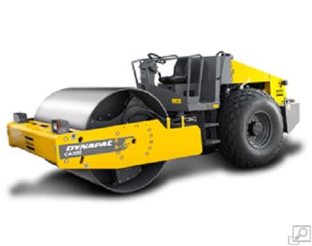 戴纳派克CA300PD单钢轮压路机