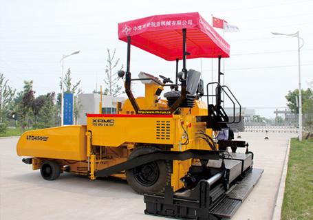中交西筑LTD450A轮式摊铺机