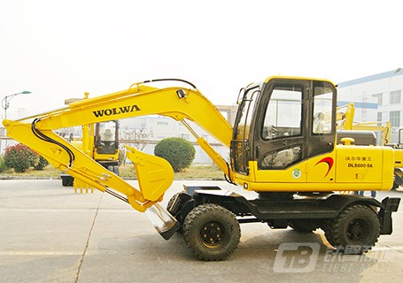沃尔华DLS880-9A轮式挖掘机
