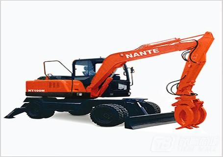 南特NT100W轮式挖掘机