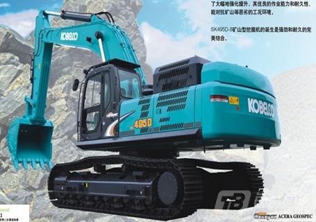 原装神钢SK495D挖掘机