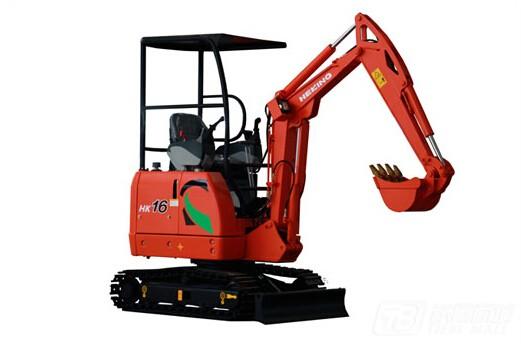 合矿HK16挖掘机图片