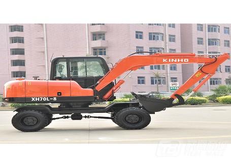 泉州鑫豪XH70L-8轮式挖掘机