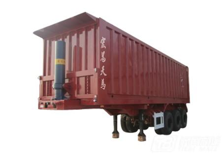 宏昌天马HB-QP平板自卸半挂车