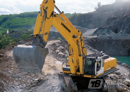 利勃海尔R964C Litronic挖掘机