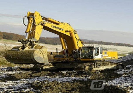 利勃海尔R974C Litronic挖掘机