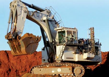 利勃海尔R9400矿用挖掘机