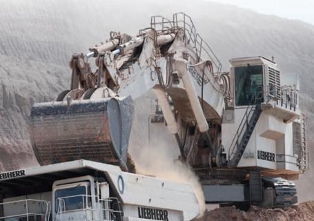 利勃海尔R995矿用挖掘机