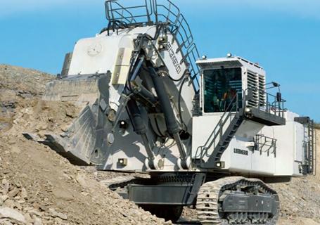 利勃海尔R9350 Electric电动挖掘机