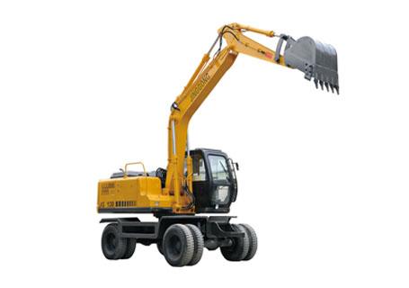劲工JG130双驱轮式挖掘机