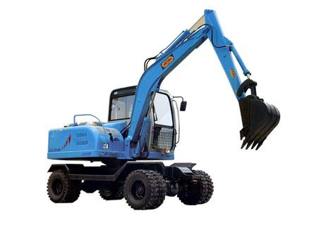 劲工JG608LS轮式挖掘机