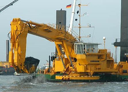 利勃海尔P995浮式挖掘机
