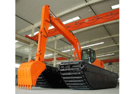 合矿HK400SD湿地液压挖掘机