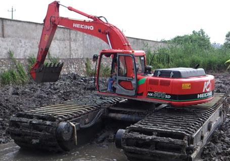 合矿HK300SD湿地液压挖掘机