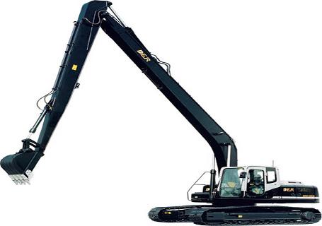 德尔重工DER323-8加长臂挖掘机图片
