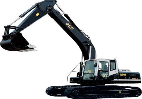 德尔重工DER323-8h(混合动力)挖掘机图片