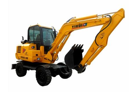 忆辉YH35-9B轮式挖掘机