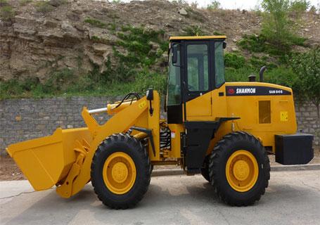 山猛机械SAM846轮式挖掘机