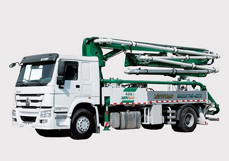 森源重工SMQ5190THB27米混凝土泵车
