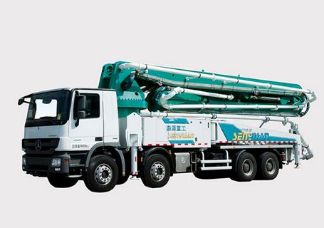 森源重工SMQ5381THB混凝土泵车