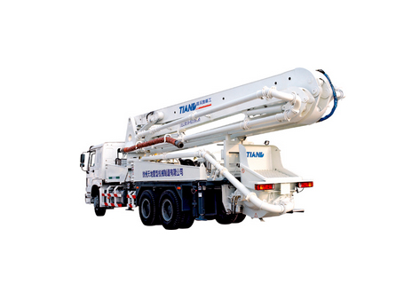 鑫天地重工XZQ5260THB-37混凝土泵车图片