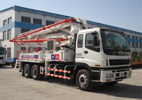 铁力士HDT5291THB-37/4混凝土泵车
