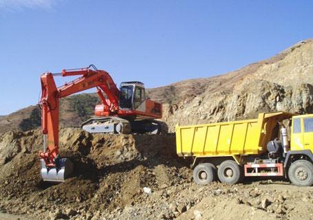 邦立重机CE400-7正铲挖掘机