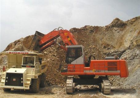 邦立重机CE750-8正铲挖掘机