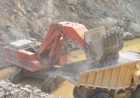 邦立重机CE1250-7正铲挖掘机