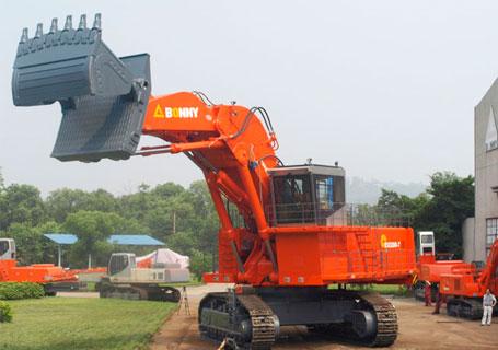 邦立重机CE2200-7挖掘机