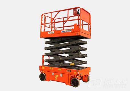 星邦重工GTJZ1012E10米自行电动剪叉式高空作业平台