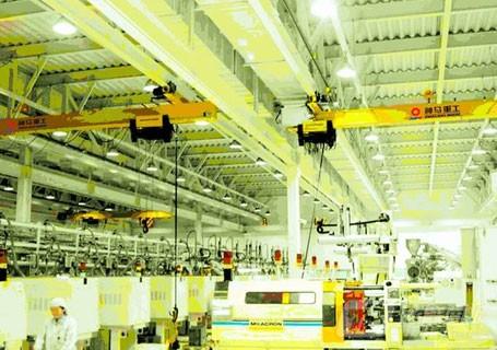神马科技LX电动式单梁悬挂起重机图片