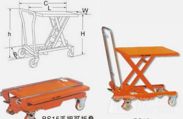 梅狮BS80D高空作业车/平台
