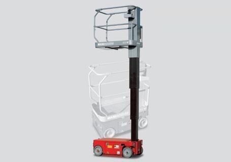 曼尼通自行桅杆式高空作业车/平台